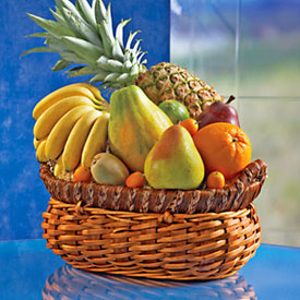 Fruit Basket, Mexico, Juchitan de Zaragoza-Oaxaca
