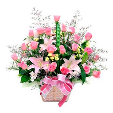 Premium Florist Female Present