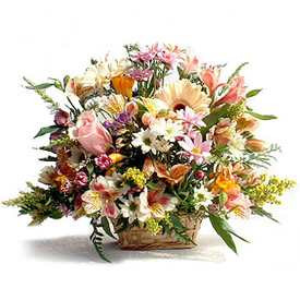 The Premium Florist Basket