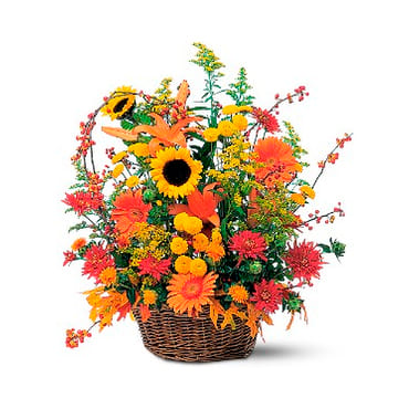 The Premium Florist Basket