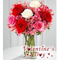 <font color= #FF0000><b>Valentin Gift Center - Flores a USA