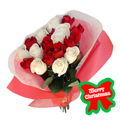 Holiday Rose Bouquet, -Nicaragua