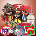 Winter Basket + FREE CARD!, -Mexico