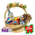 I Love Christmas Basket, -Mexico