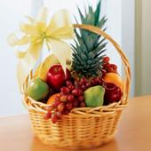 Fresh Fruit Basket, Panama, Agua Dulce