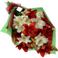 Lilies Star Bouquet, Clinica Indisa-Providencia